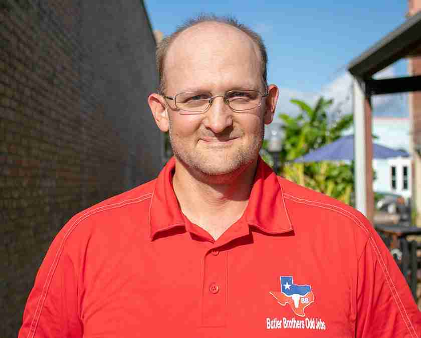 Alan Bulter - owner of Butler Contracting